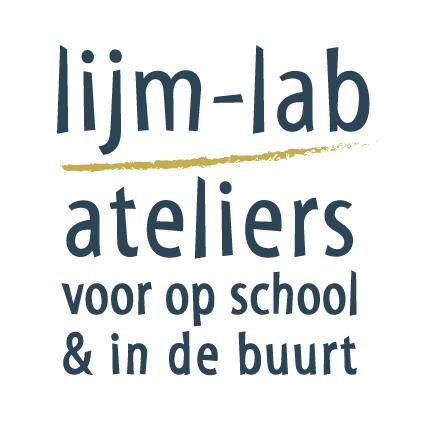 logo Lijm-lab: ateliers voor op school en in de buurt