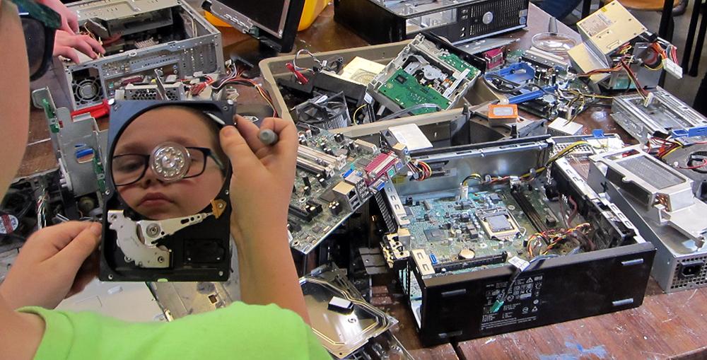 computers demonteren