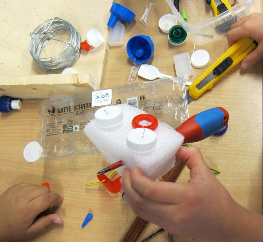 plastic afval recyclen